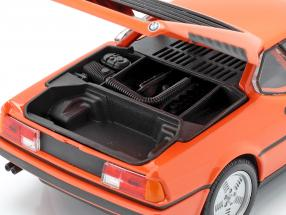 BMW M1 year 1978 orange