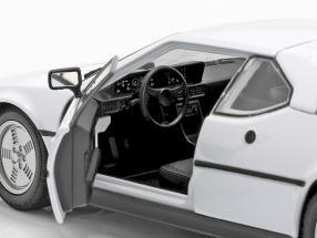BMW M1 year 1978 white