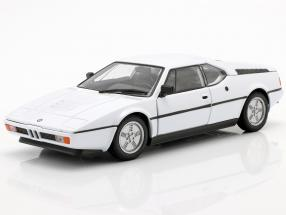 BMW M1 year 1978 white 1:24 Welly