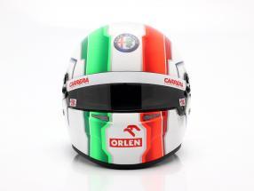 Antonio Giovinazzi #99 Alfa Romeo Racing Orlen formula 1 2020 helmet