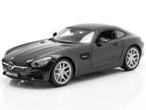 Mercedes-Benz AMG GT (C190) black metallic 1:18 Maisto