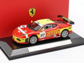 Ferrari F430 GTC #97 24h LeMans 2008 Ruberti, Bubini, Malocelli 1:43 Bburago