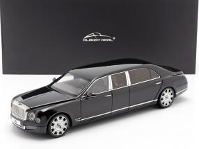 Bentley Mulsanne Grand Limousine by Mulliner 2017 onyx schwarz 1:18 Almost Real