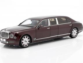 Bentley Mulsanne Grand Limousine by Mulliner 2017 bordeaux rot 1:18 Almost Real