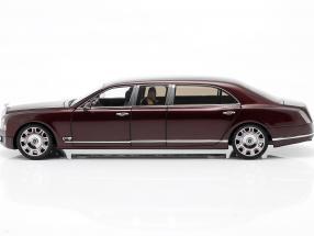 Bentley Mulsanne Grand Limousine by Mulliner 2017 bordeaux