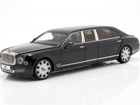 Bentley Mulsanne Grand Limousine by Mulliner 2017 onyx black 1:18 Almost Real