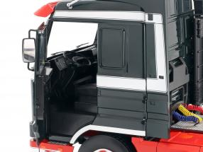 Scania 143 Streamline Truck 1995 dark green / red / white