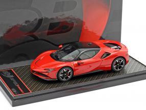 Ferrari SF90 Stradale year 2019 corsa red 1:43 BBR