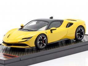 Ferrari SF90 Stradale year 2019 modena yellow 1:43 BBR