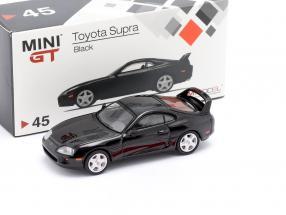 Toyota Supra (JZA80) LHD black 1:64 TrueScale