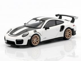 Porsche 911 GT2 RS Weissach Package LHD GT white metallic 1:64 TrueScale