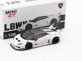 LB-Works Lamborghini Huracan GT LHD white 1:64 TrueScale