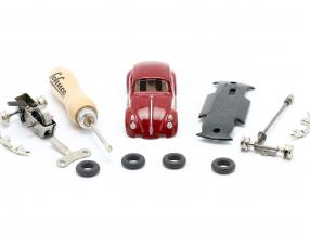 Micro-Racer Volkswagen VW Beetle BS red Kit 1:40 Schuco