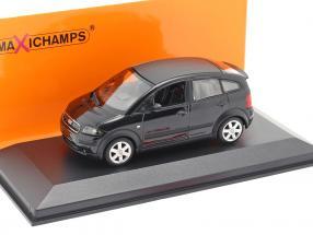 Audi A2 (8Z) year 2000 black metallic 1:43 Minichamps