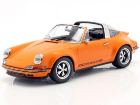 Porsche 911 Targa Singer Design orange 1:18 KK-Scale
