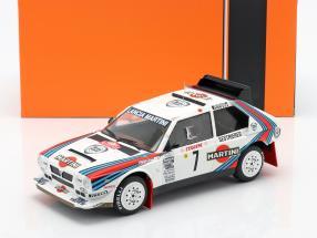 Lancia Delta S4 #7 Winner Rallye Monte Carlo 1986 Toivonen, Cresto 1:18 Ixo