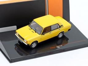 Lada 2105 year 1981 yellow 1:43 Ixo