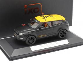 "Range Rover Evoque ""Year of the Horse"" Nürnberg Toy Fair frosted black 1:43 Ixo"
