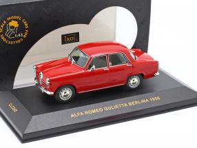 Alfa Romeo Gulietta Berlina year 1956 red 1:43 Ixo