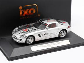 Mercedes-Benz SLS AMG Year of the Rooster ToyFair Nürnberg 2017 silver 1:43 Ixo