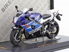 Suzuki GSX-R 1000 blue / white 1:24 Ixo