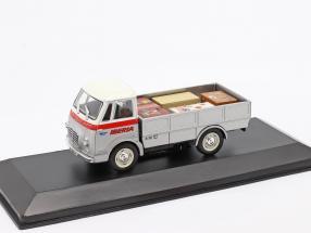 Fadisa Romeo 2 Transporter Iberia year 1965 silver / white / red 1:43 Altaya