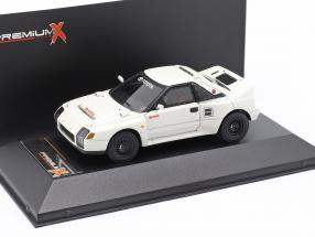 Toyota MR2 222D year 1986 white 1:43 Premium X