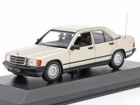 Mercedes-Benz 190E (W201) year 1984 silver metallic 1:43 Minichamps
