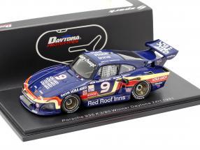 Porsche 935 K3/80 #9 Winner 24h Daytona 1981 Garretson, Rahal, Redman 1:43 Spark