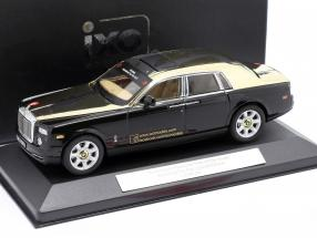 Rolls-Royce Phantom Year of The Snake - Nürnberg ToyFair 2013 black 1:43 Ixo