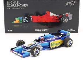 Michael Schumacher Benetton B195 #1 formula 1 World Champion 1995 1:18 Minichamps