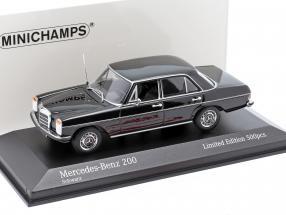Mercedes-Benz 200D (W114/115) year 1968 black 1:43 Minichamps