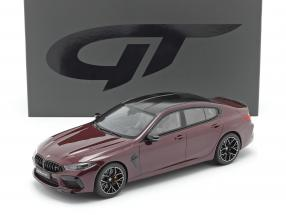 BMW M8 Gran Coupe year 2020 ametrine metallic 1:18 GT-Spirit