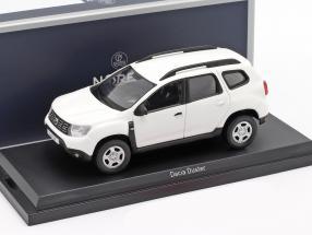 Dacia Duster year 2018 white 1:43 Norev