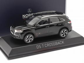 DS 7 Crossback year 2017 black 1:43 Norev