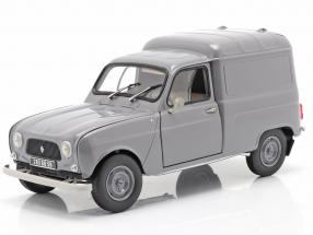 Renault 4 Fourgonnette  year 1965 grey 1:18 Norev