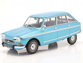 Citroen Ami Super  year 1974 delta blue metallic 1:18 Norev