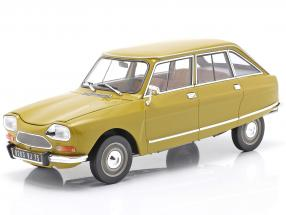 Citroen Ami 8 Club year 1969 golden yellow 1:18 Norev