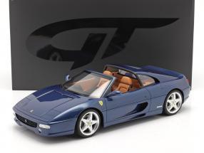 Ferrari F355 GTS  year 1995 tour de france blue 1:12 GT-Spirit