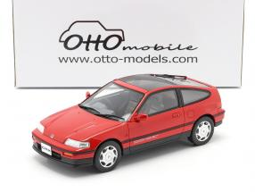Honda CR-X MK II year 1988 rio red 1:18 OttOmobile