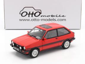 Ford Fiesta MK1 XR2 year 1981 sunburst red 1:18 OttOmobile