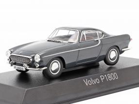 Volvo P1800 year 1963 dark grey metallic 1:43 Norev
