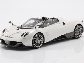 Pagani Huayra Roadster year 2018 white 1:18 LCD Models