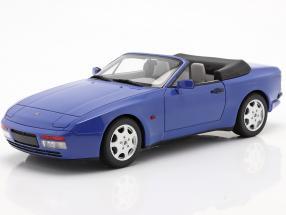 Porsche 944 Turbo Cabriolet S2 year 1989 maritime blue 1:18 GT-Spirit