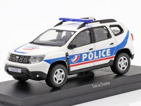 Dacia Duster Police Nationale 2018 white / blue 1:43 Norev