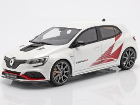 Renault Megane Trophy-R Pack Carbon year 2019 white / red 1:18 OttOmobile