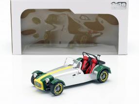 Lotus Seven year 1989 aluminum / green 1:18 Solido
