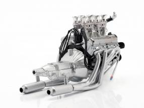 Injected 396 Big Block Chevrolet Engine and transmission 1:18 GMP