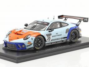 Porsche 911 GT3 R GPX Gulf #36 winner Coppa Florio 12h Sizilien 2020 1:43 Spark