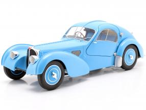 Bugatti Type 57 SC Atlantic year 1938 light blue 1:18 Solido